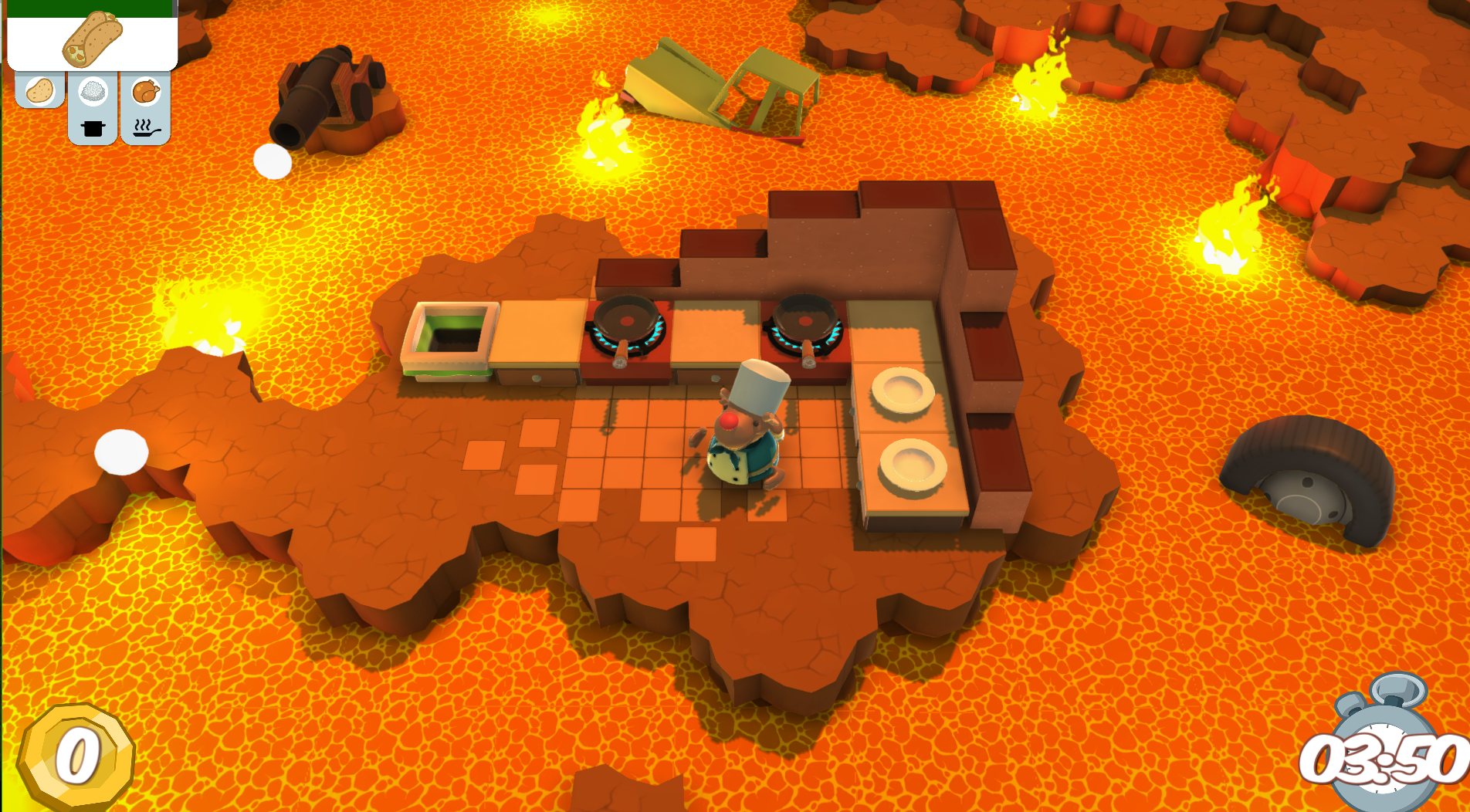 Overcooked Ingame-Screenshot