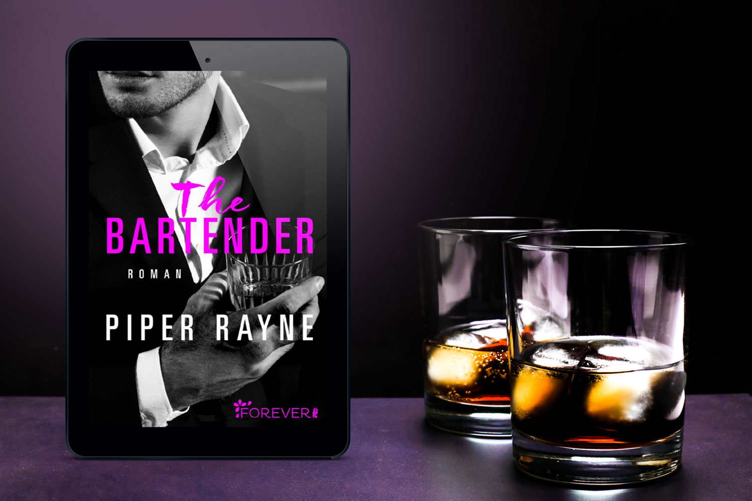 "Cover zu ""The Bartender"" von Piper Rayne"